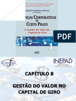 Cap 8 - Gestão do Valor no Capital de Giro