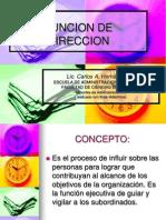 Funcion de Direccion