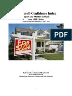 REALTORS® Confidence Index June