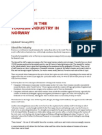 Working in the Tourism Industry in Norway