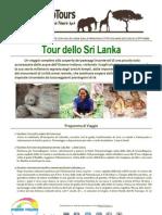 Speciale Press Tours, Tour Dello Sri Lanka - da Luglio a Ottobre 2012