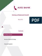 Axis IR Presentation May 2012