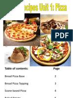 Year 8 Recipes Unit 1 Pizza