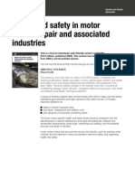 Health and Safety in Motor