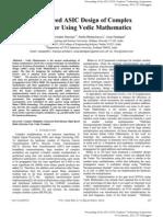 HighSpeedASICDesignofComplexMultiplierUsingVedicMathematics