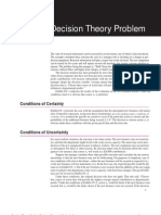 Decision Theory Problem