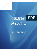 225 Hadiths Traduite En Francais