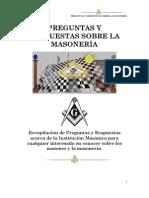 Preguntas y Respuestas Sobre La Masoneria