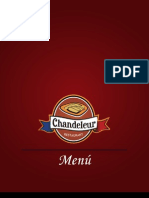 Menu Chandeleur Restaurant @chandeleurmx