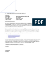 Congressman Letter's July 19, 2012 for Scribd
