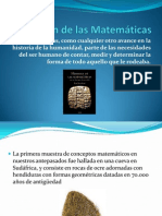 El Origen de las Matemáticas SANTIAGOCOPIA