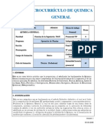Microcurriculos de Quimica General (3)