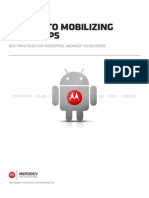Best Practices for Enterprise Android Developers