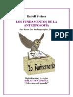 Steiner Rudolf - Fundamentos de la Antroposofía