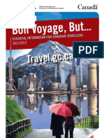 Information for Canadian Travellers 2012