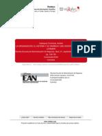 LECTURAla Organizacion El Sistema y Su Dinamica