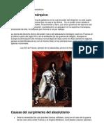 absolutismo - explicacion