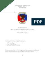 Chinook Flight Control Hydraulics