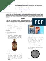 Lab Nº3_Preparación de muestras TEM