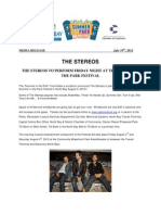 The Stereos