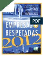 Empresas Mas Respetadas 2012