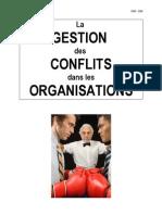 La Gestion Des Conflits Dans Les Organisations