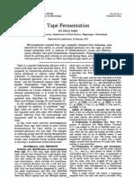 Tape Fermentation