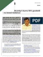 Brumbys Brand Crisis - Social Media Governance