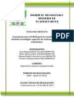 Anteproyecto - Redes WAN