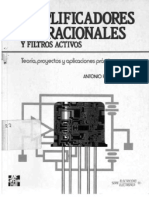 Amplificadores Operacionales Y Filtros Activos - Antonio Pertence