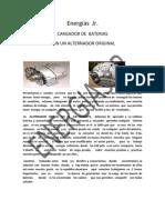 Energiasjr Presenta El Manual de Cargador de Baterias