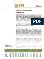 BIMBSec - Oil Gas - 20120720 - Sector Update - Unleashing More