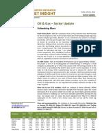 BIMBSec - Oil Gas - 20120720 - Sector Update - Unleashing More