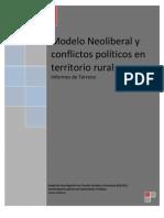 GICSEC (Varios Autores)-Modelo Neoliberal y conflictos políticos en territorios rurales (Informes de Terreno)