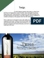 Twig Wines Presentation