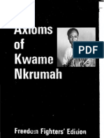 Axioms Kwame Nkrumah the Freedom Fighters Edition