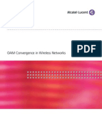 OAM Convergence in Wireless Networks