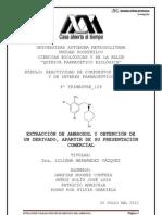 Proyecto ambroxol