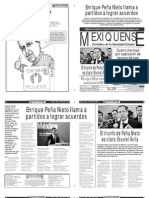 Versión impresa del periódico El mexiquense 20 julio 2012