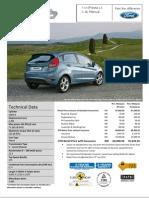 Ford Fiesta 1.4L Manual Pen Msia_2012
