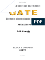 GATE-ECE - MCQs for Electronics and Communication Engineering (R.K.kanodia, 5e, 2009) - Book