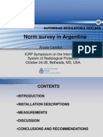 Analia Canoba NORM Survey in Argentina