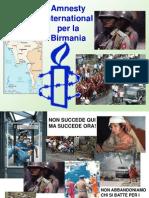 Amnesty - Birmania