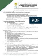 Volunteer Insurance Form[1]