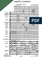 Messiaen - Turangalila Symphonie - Full Score - Complete