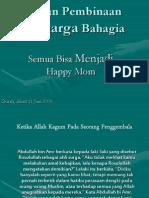 Kajian Pembinaan Keluarga Bahagia