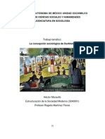 Maravillo_La Concepcion Sociologica de Durkheim