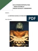 Maravillo_La 'Identidad Nacional' Un Poema Modernista