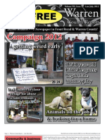 The Late July, 2012 edition of Warren County Report