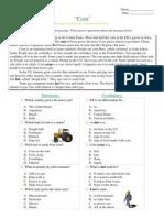 Informational Passages RC - Corn